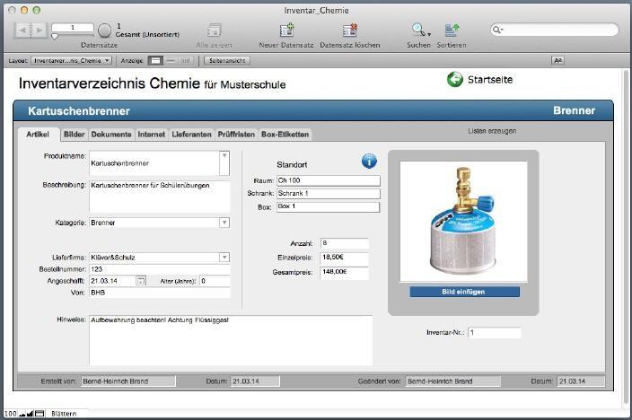 CHEmac-win Gefahrstoff-Managementsoftware